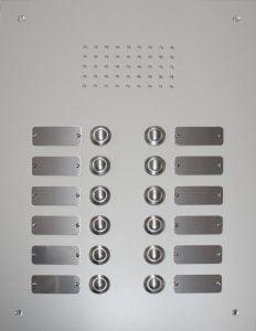 Aussensprechstelle Audio FERMAX Aluminium
